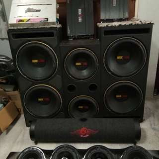 set audio system
