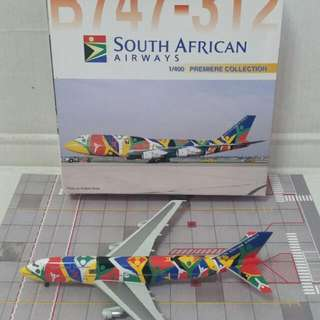Dragon Wings 1:400  South African B747 - 312