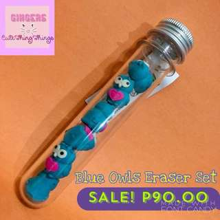 Test Tube Erasers