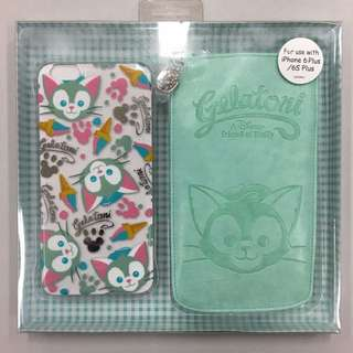 Disney iPhone 6 / 6s plus case Gelatoni 香港 迪士尼 樂園 電話殼