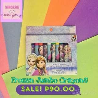 Character Jumbo Crayons
