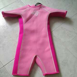 Thermal Swim Suit (7years old)