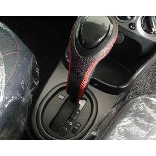 Leather Auto Gear Knob Original Saga Flx