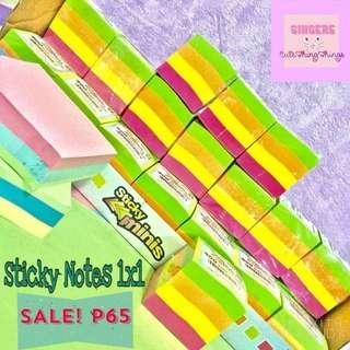 Mini Sticky Notes 1x1