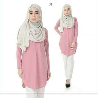 BA inspired Muslimah blouse