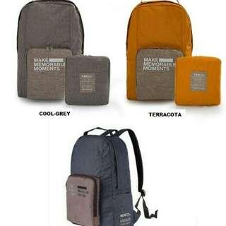 Tas punggung lipat Travel / Duffle Backpack