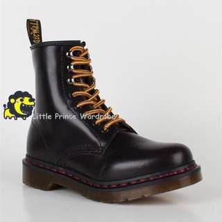 Dr Martens 1460 with red thread