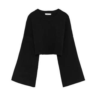 authentic ZARA knit cropped sweater