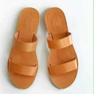 wholesale/retail leather sandals