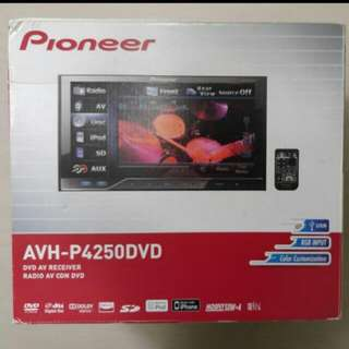 Car Accessories - Pioneer AVH-P4250DVD