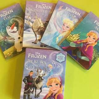 Authentic Disney Frozen The Ice Box Board Books