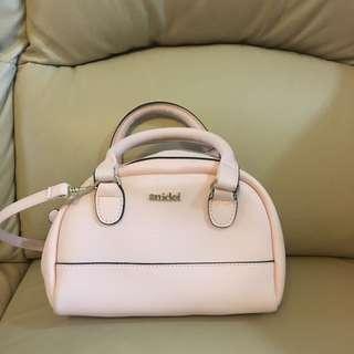 snidel 粉紅色 手袋