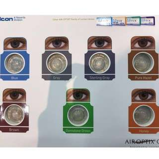 [limited stocks]Air optix colours monthly colour contact lens