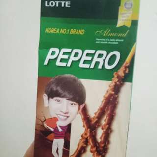 Chanyeol pepero box only