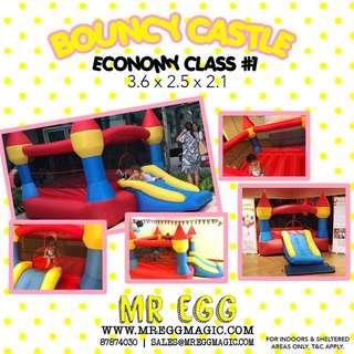 ECONOMY CLASS BOUNCY CASTLE EC#1