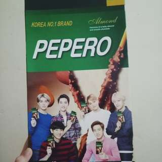EXO pepero box only