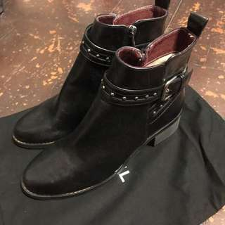 Valentino style studs boot