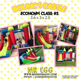 ECONOMY CLASS BOUNCY CASTLE EC#2