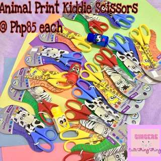 Animal Print Kiddie Scissors