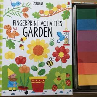 Fingerprint Activity Garden Usborne
