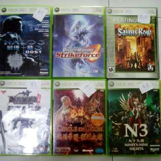 Xbox 360 Games Selling Cheap from $8!  buy more free normal mail