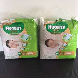 Huggies Ultra (Gold) Newborn 48pcs