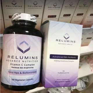 Authentic Relumins Advance Nutrition Vitamin C