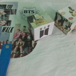 BTS FAN + Handmade Custom Kpop Cube