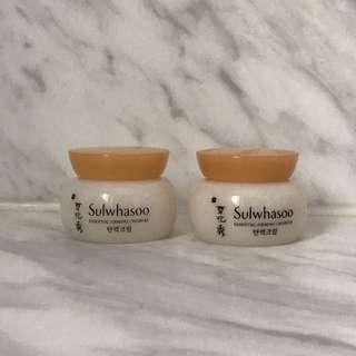頸紋救星 雪花秀 滋盈肌本緊緻面霜 Sulwhasoo Essential Firming Cream Ex 5ml x 2