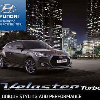 REBATE RM50K HYUNDAI VELOSTER 1.6 TURBO SPORT COUPE HATCHBACK RACING