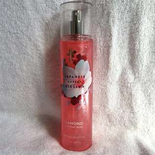 Bath & body works shimmer mist