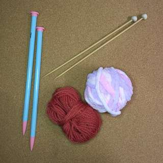 Knitting Materials for Beginners