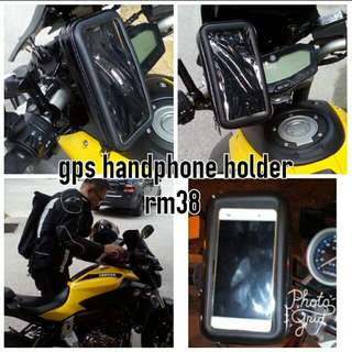 gps handphone holder waterproof