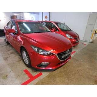 *PROMOTION* NO DEPOSIT Mazda 3 Skyactiv 2017 for rent
