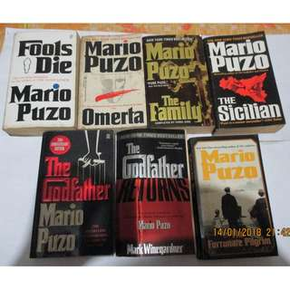Mario Puzo The Sicilian, Paperbacks, Pre-loved Book, Books, Softbound