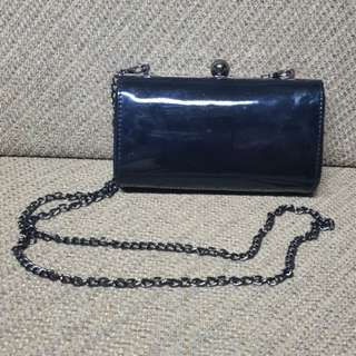 Patent Ladies Clutch (Black)