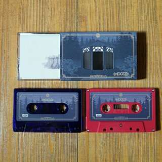 "MOCCA ""When We Were Young"" red colour casette"