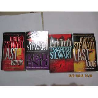 Mariah Stewart, Paperbacks, Pre-loved Book, Books, Softbound