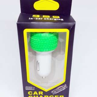 Carger mobil 2in1/car charger 2slot