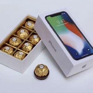 整蠱禮物 iphone盒 朱古力盒