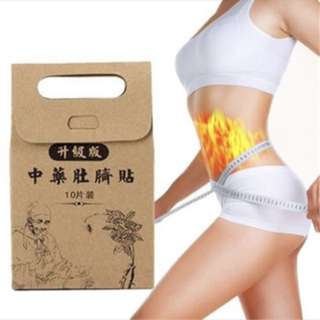 Chinese TCM hot slimming patch