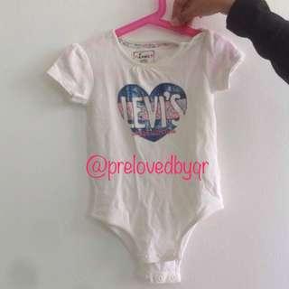 Baju baby perempuan Levis