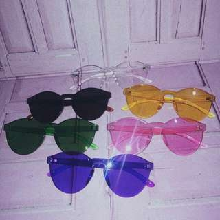 Sunglasses kacamata candy jelly NEW