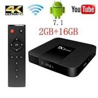 4k Android TV Box Tanix TX3 Mini