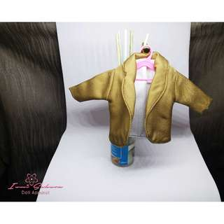 Hunter Brown Office Coat Barbie Coat