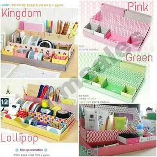 Table Organizer stationery Storage Box