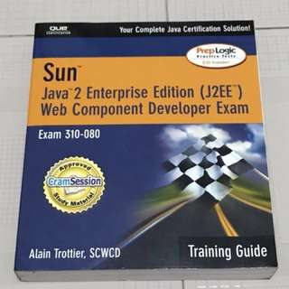 Java 2 Enterprise Edition - Web Component Developer Exam