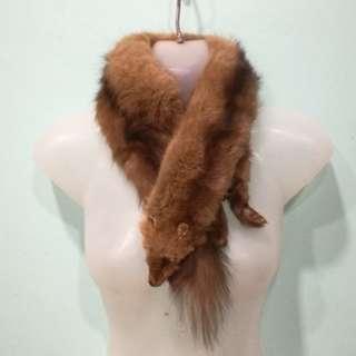 Luxury Gift. Mink Stole. Genuine Fur Stole. Full Body Pelts.