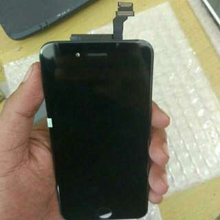lcd iphone 5,6,7 new free pasang dan tempered glass