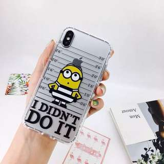 iPhone minions mon貼(代購)